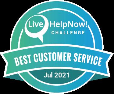 LiveHelpNow Challenge Winner for Jul 2021